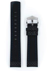 Carbon, schwarz, XL, 22 mm
