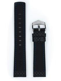 Carbon, schwarz, L, 22 mm