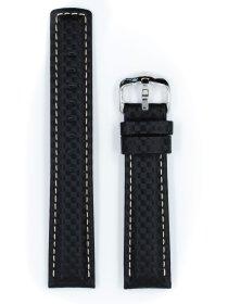 Carbon, schwarz, L, 24 mm