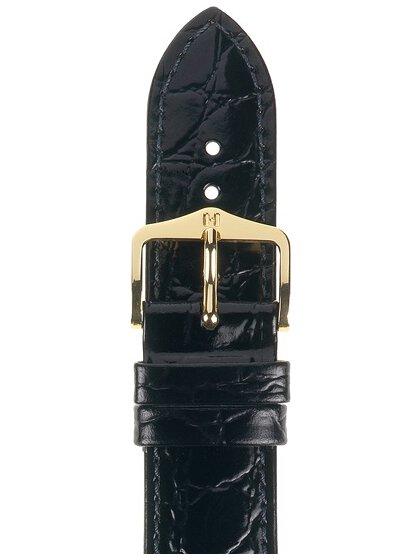 Crocograin  M, schwarz, 18mm