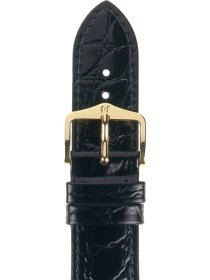 Crocograin  L, schwarz, 19mm