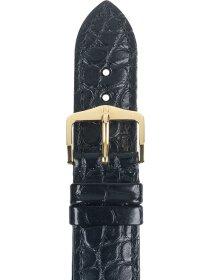 Genuine Alligator M, schwarz, 18mm