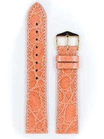 Genuine Croco L, rose glänzend, 20mm