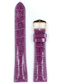 London, violett glänzend, L, 18 mm