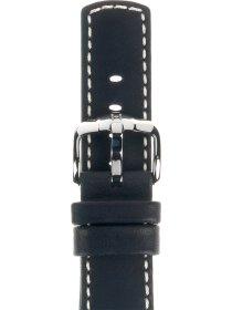 Mariner L, schwarz, 22mm