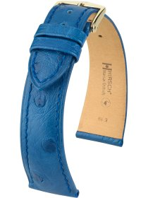 Massai Ostrich, königsblau, L, 19 mm