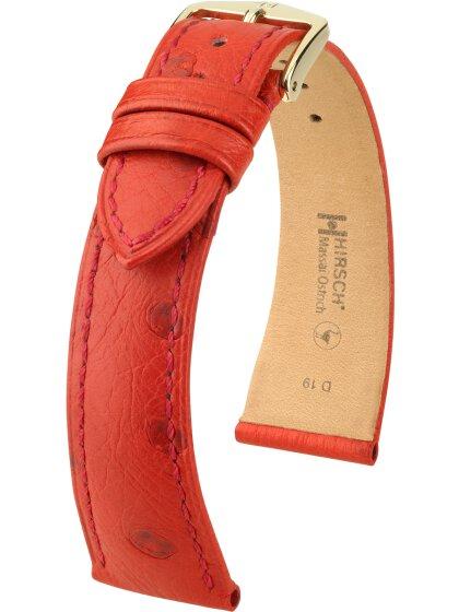Massai Ostrich, rot, M, 16 mm