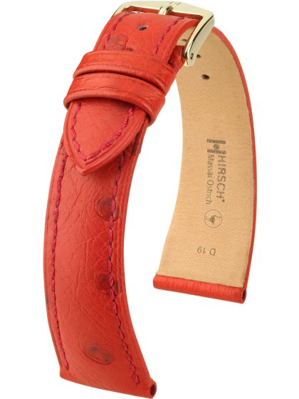 Massai Ostrich, rot, M, 17 mm