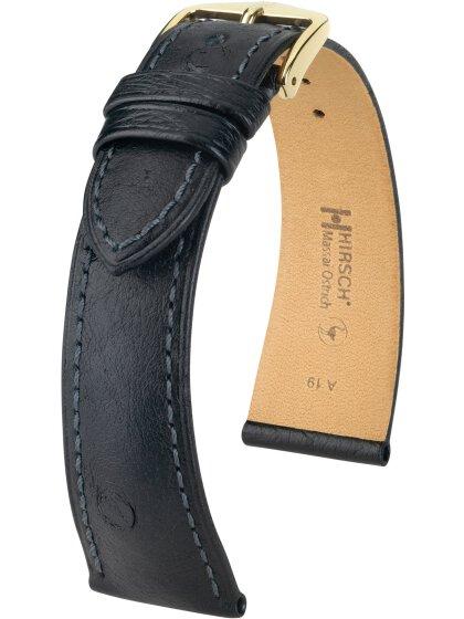 Massai Ostrich, schwarz, L, 20 mm