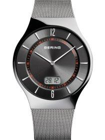 Funk-Uhr mit Milanaise Armband