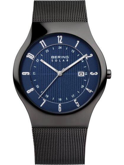Titan Solar Uhr mit Milanesearmband