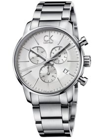 city chrono silver steel
