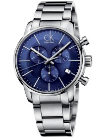 city chrono blue steel
