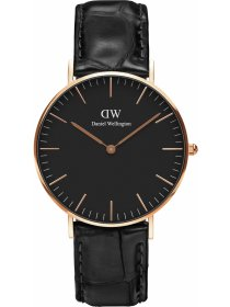 Classic Black Reading Rose 36 mm